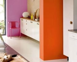 ¿Tenés una cocina integrada? Creá definición con color
